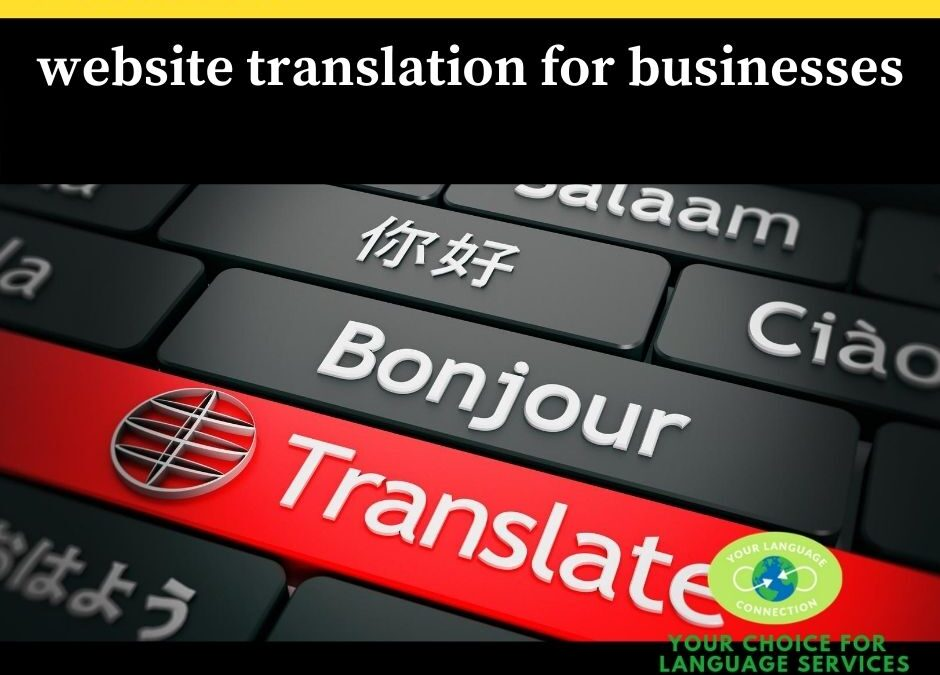 YLC Is Here For Your Website Translation Needs